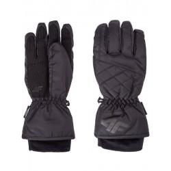 4F damskie rękawice narciarskie H4Z17 RED003A