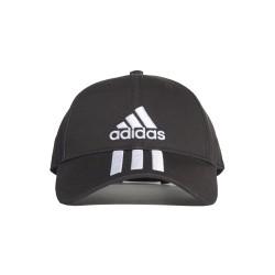 Czapka z daszkiem Adidas DU0196 czarna bawełniana
