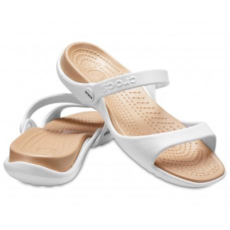 Crocs Cleo sandały klapki damskie